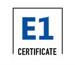 E1 Certificate