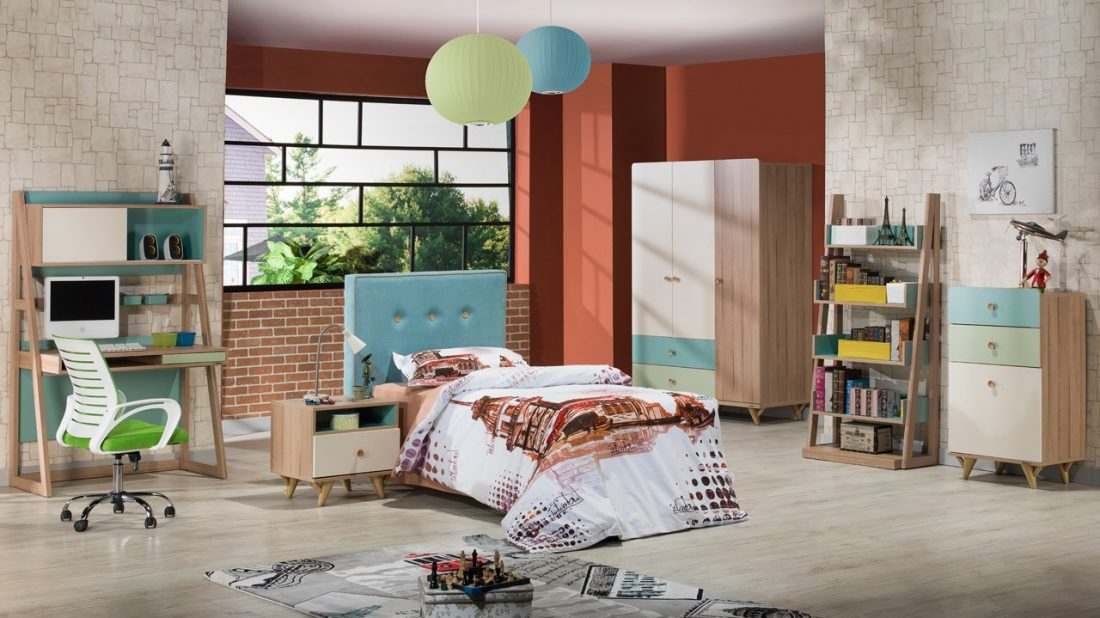 Νεανικό Δωμάτιο Flora | ISTIKBAL