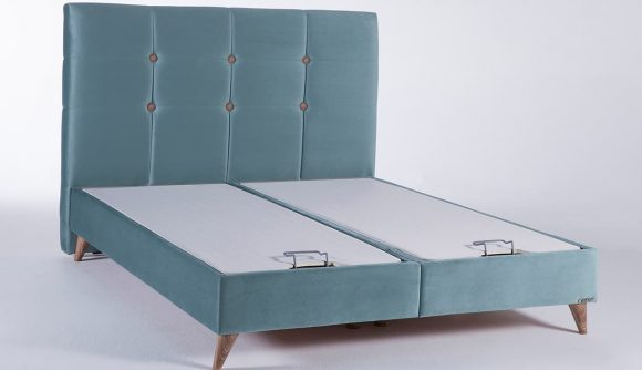Ημίδιπλα κρεβάτια με αποθηκευτικό χώρο