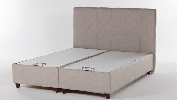 Κρεβάτι με αποθηκευτικό χώρο Sleepy Coton Cream