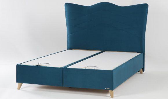 Κρεβάτι με αποθηκευτικό χώρο Santino