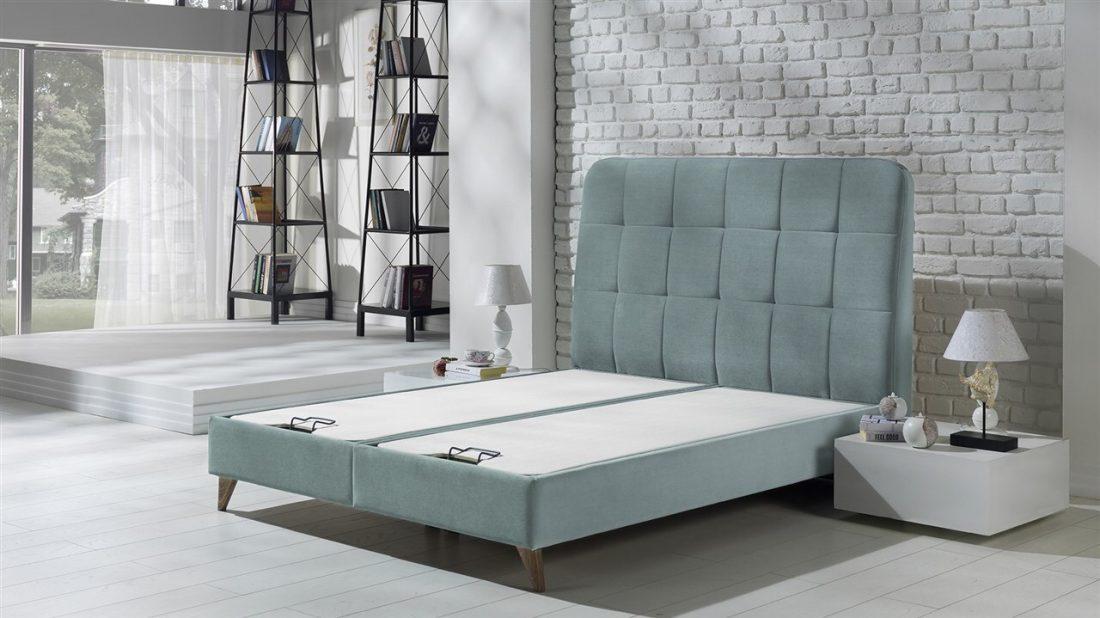 Κρεβάτι Vienza S Alisa Water Green