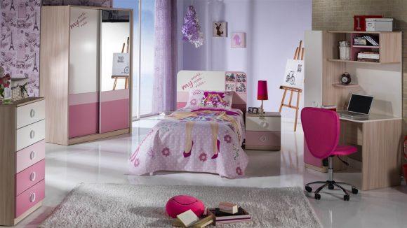 Παιδικό Δωμάτιο Portivo Pink