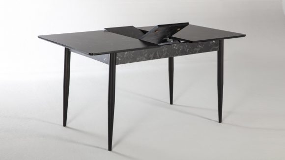 Arte Τραπέζι Κουζίνας Ανοιγόμενο Black | ISTIKBAL