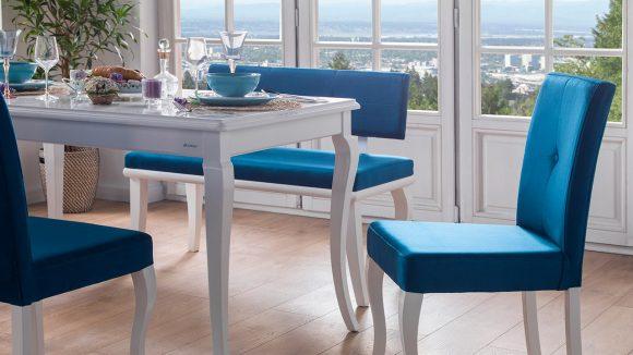Goldie Τραπεζαρία Κουζίνας Blue   Istikbal