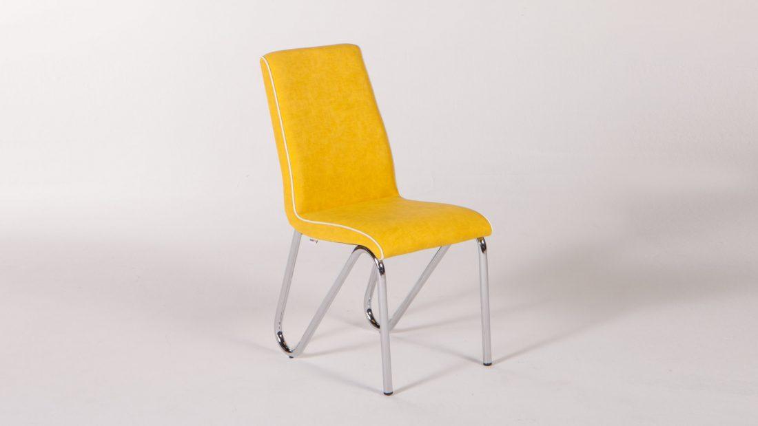 Rainbow Καρέκλα Κουζίνας Yellow | Istikbal