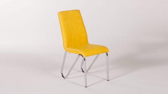 Rainbow Καρέκλα Κουζίνας Yellow   Istikbal