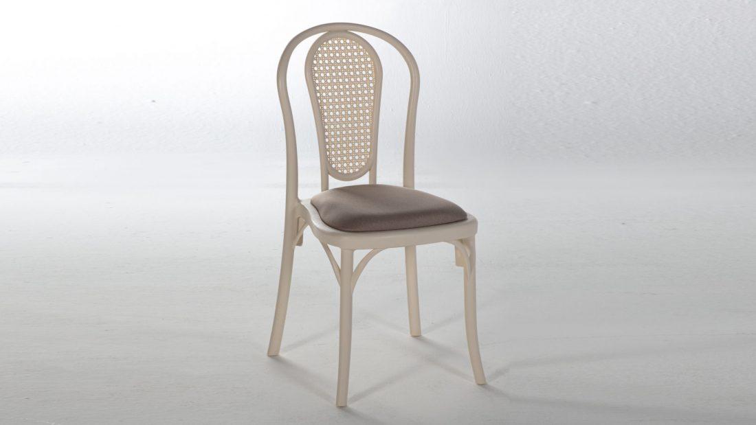 Tetra Καρέκλα Κουζίνας Cream | Istikbal