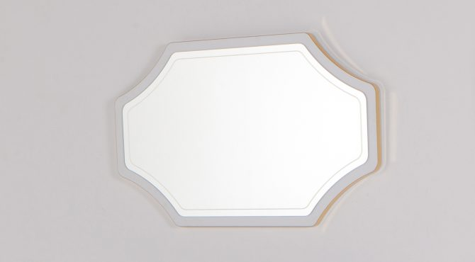 Καθρέφτης Τουαλέτας Volga White