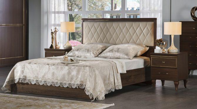 Κρεβάτι Volga Walnut